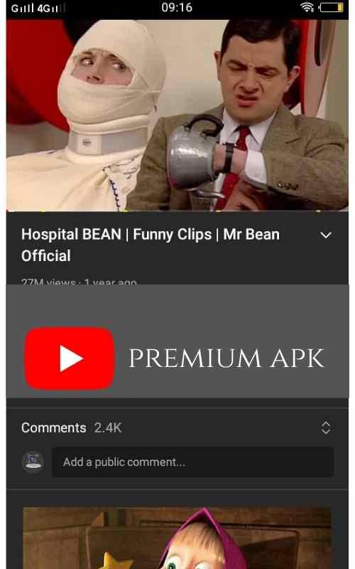 YT premium apk