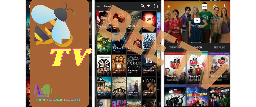 Download BeeTV Apk Latest Version [V2.5.9] For Android {Unlimited Movies}